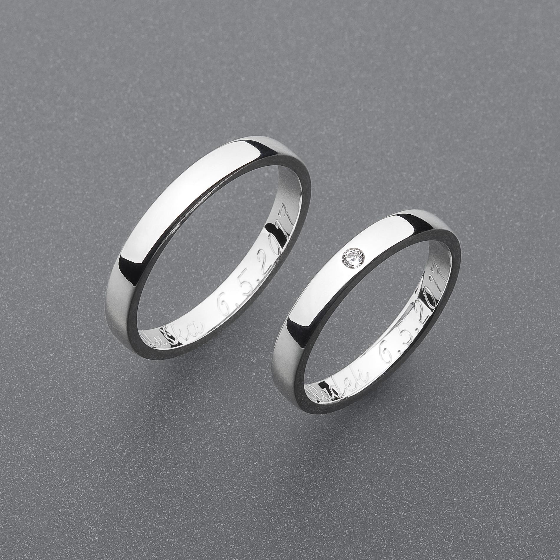 Snubní prsteny RA67