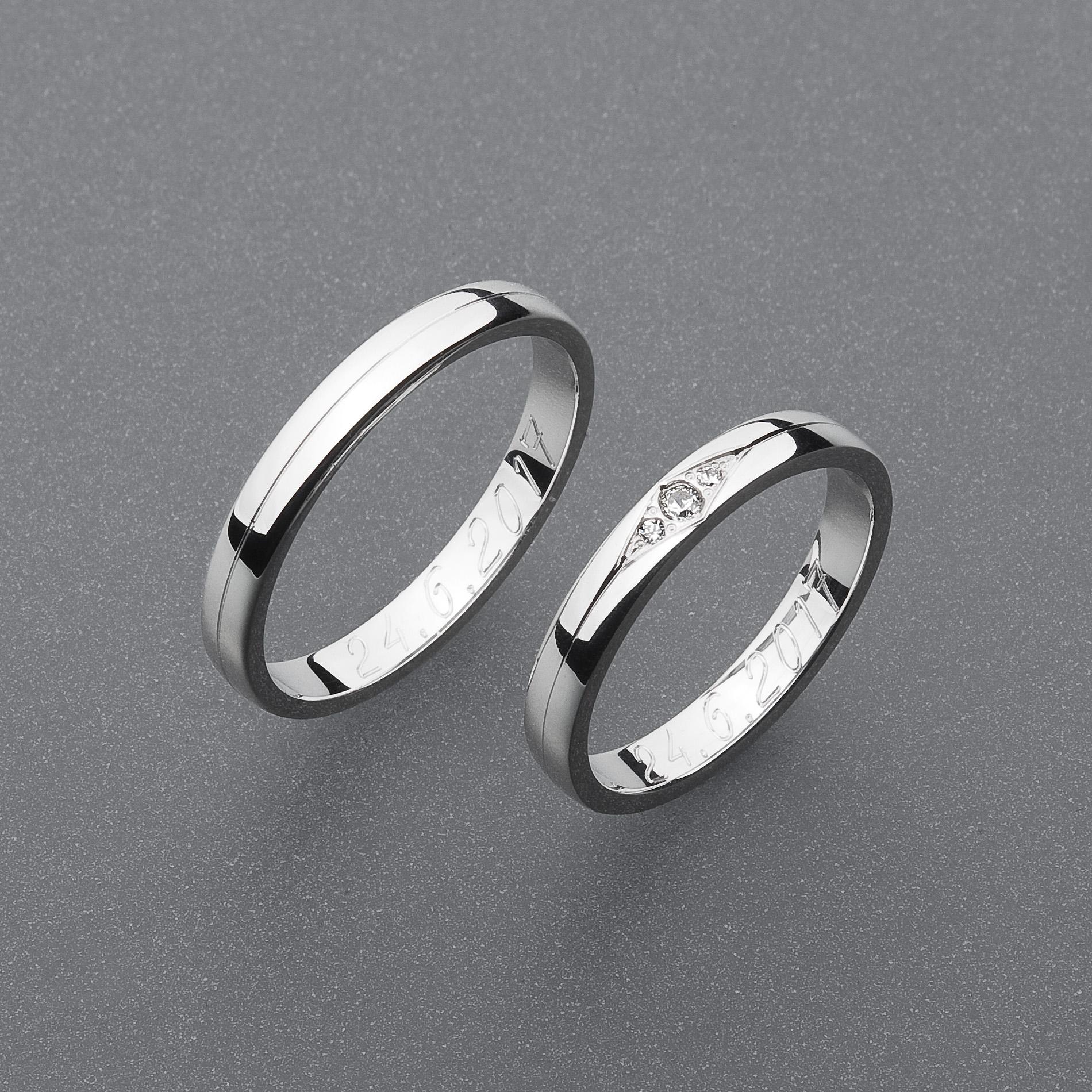 Snubní prsteny RA68