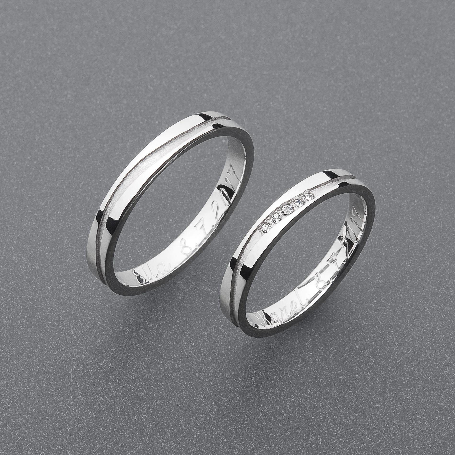 Snubní prsteny RA70