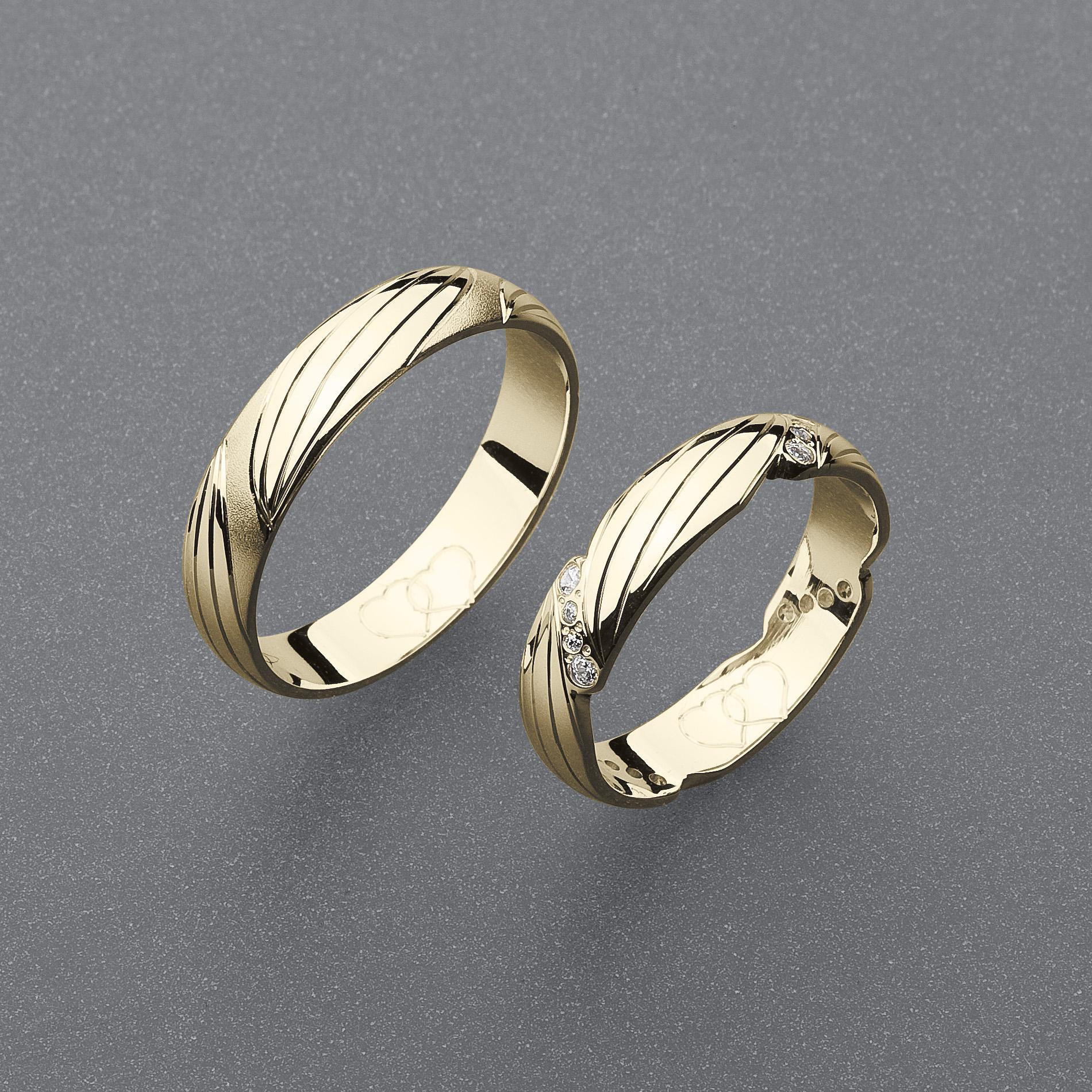 Snubní prsteny RA74
