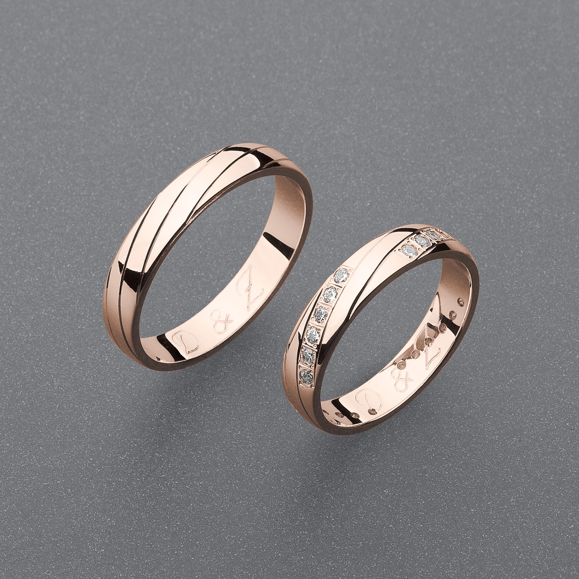 Snubní prsteny RA76