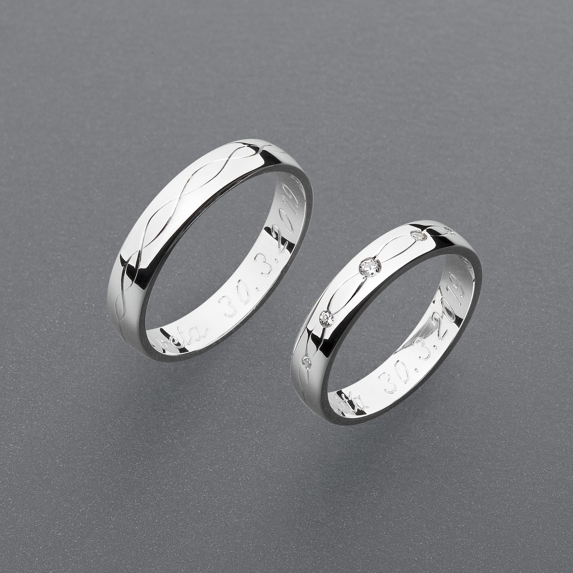 Snubní prsteny RA101