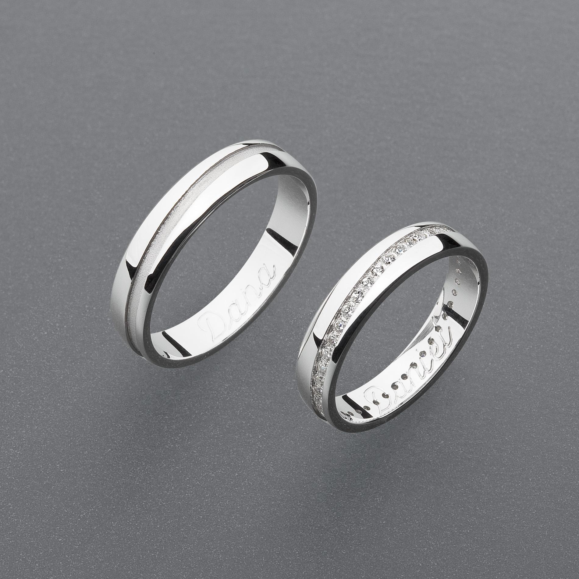 Snubní prsteny RA103