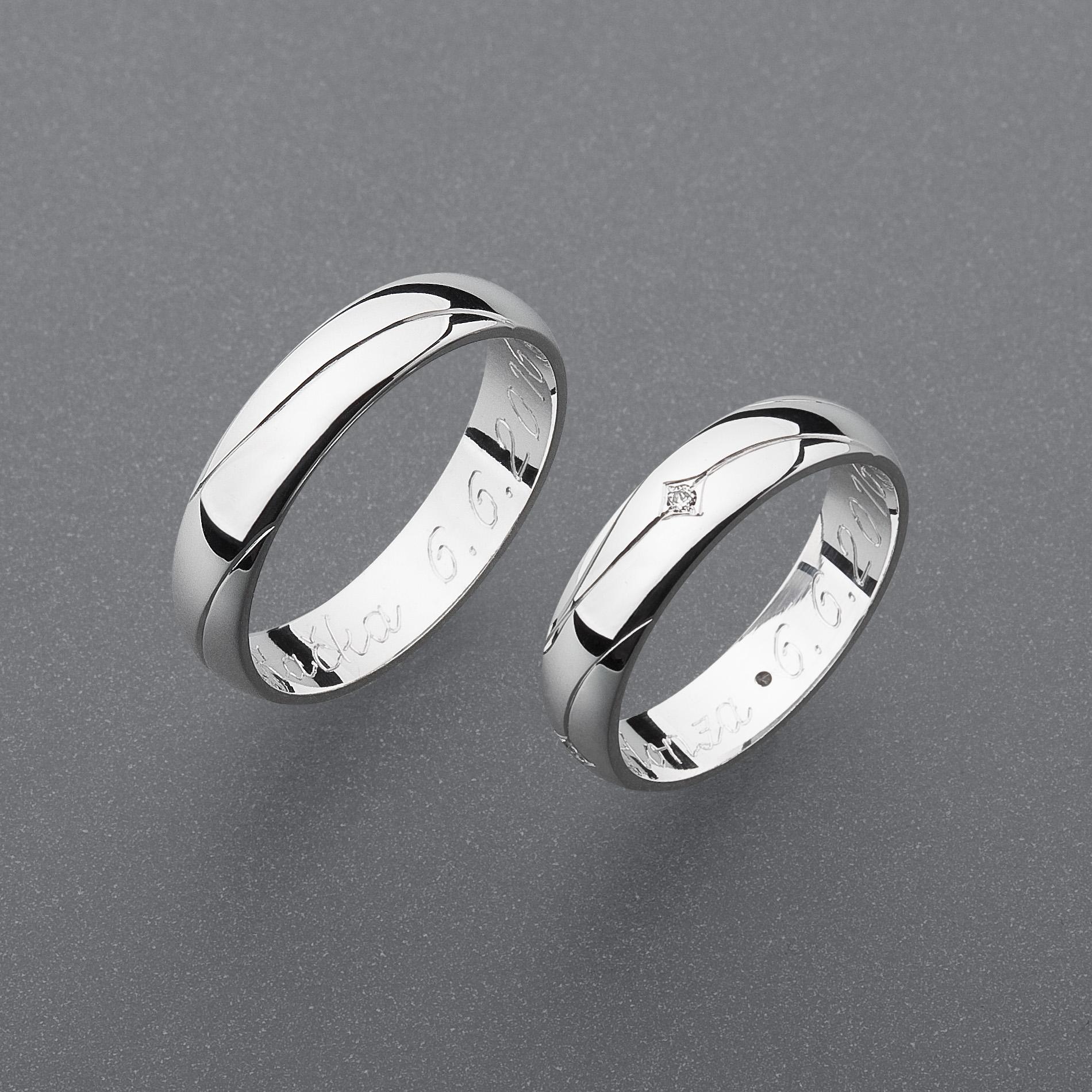 Snubní prsteny RA64
