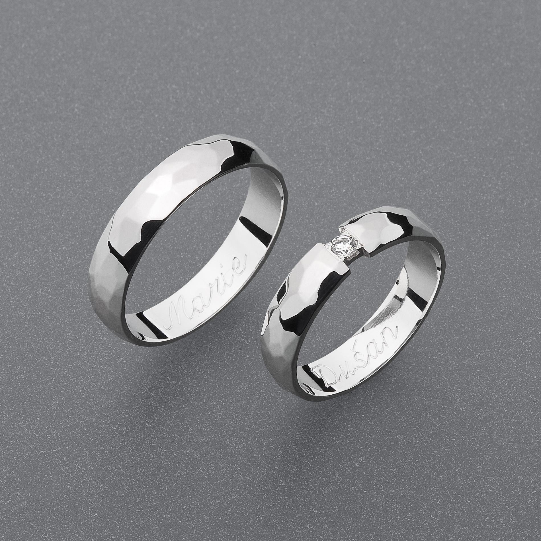 Snubní prsteny RA73