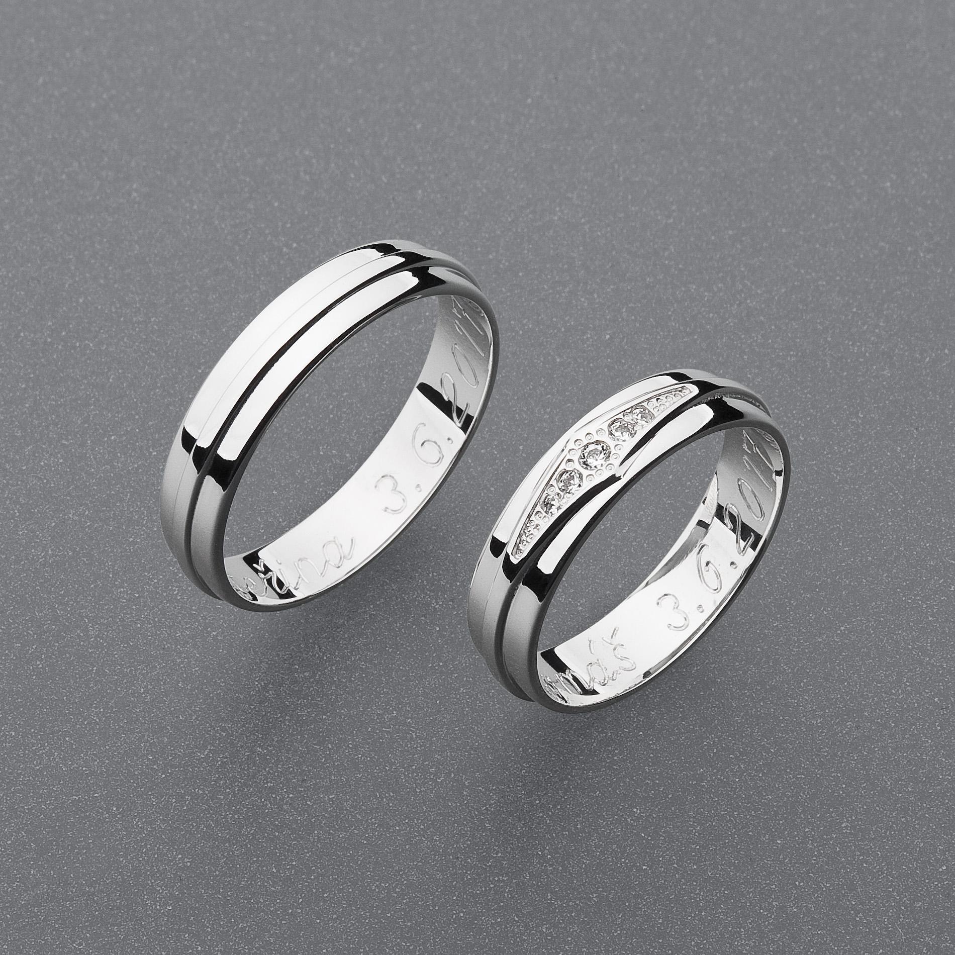 Snubní prsteny RA75