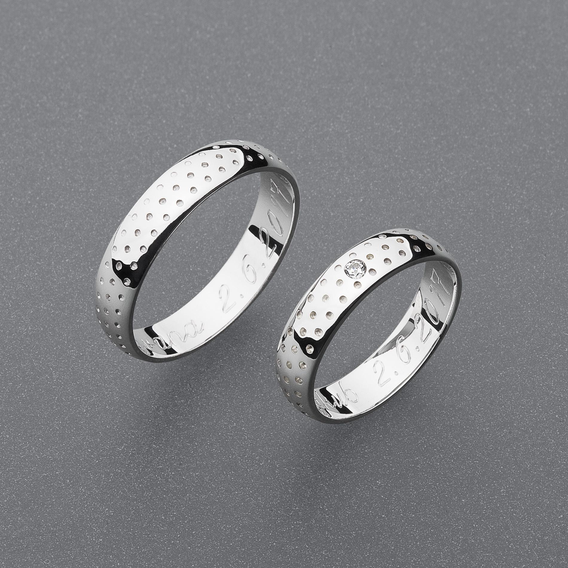Snubní prsteny RA80