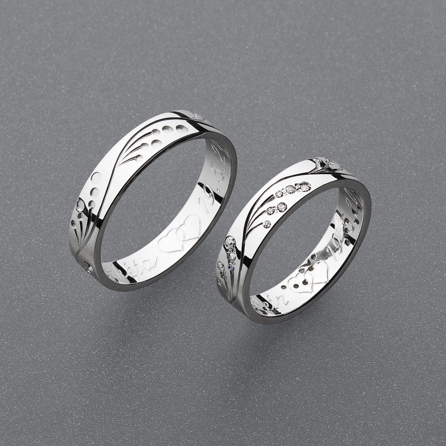 Snubní prsteny RA89