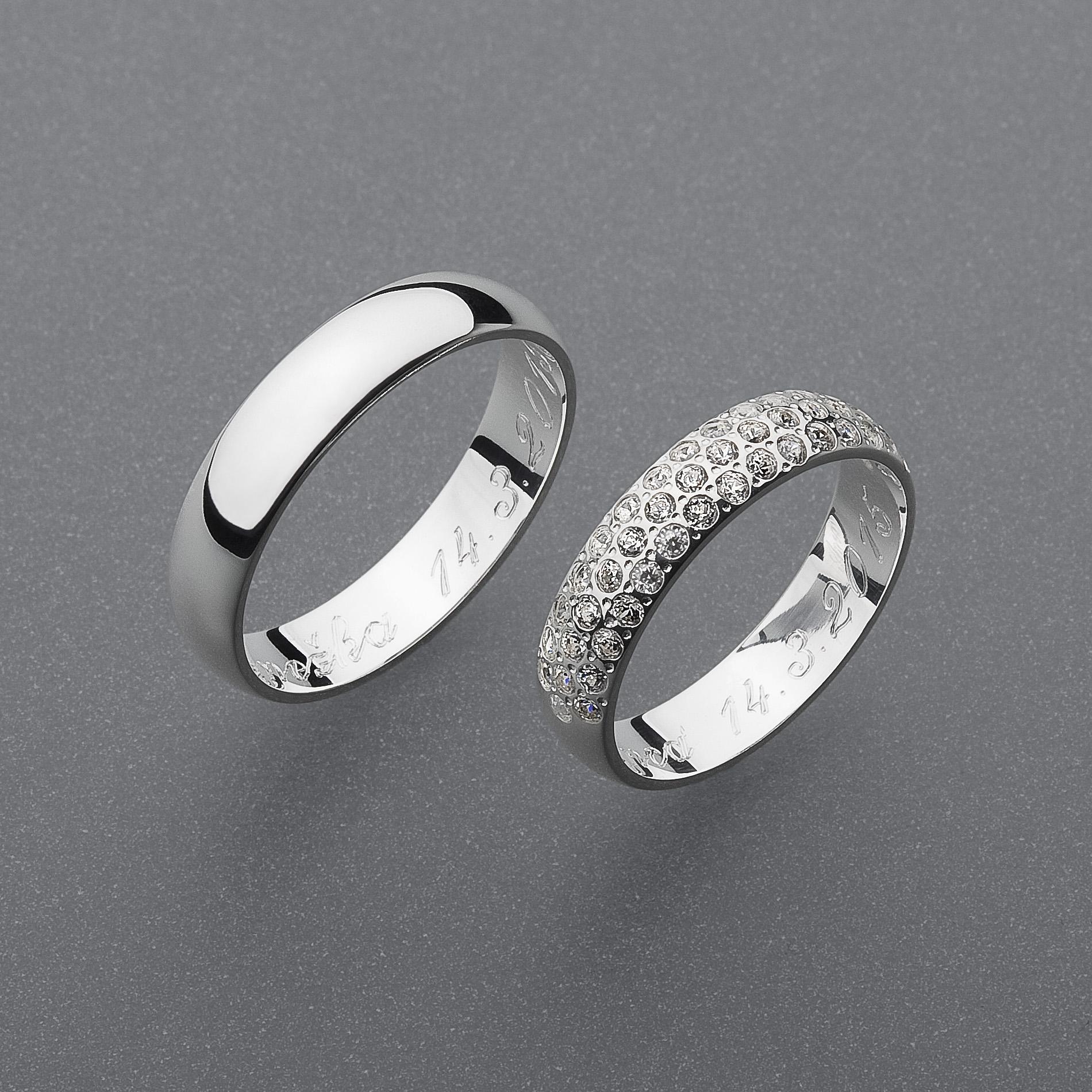 Snubní prsteny RA52