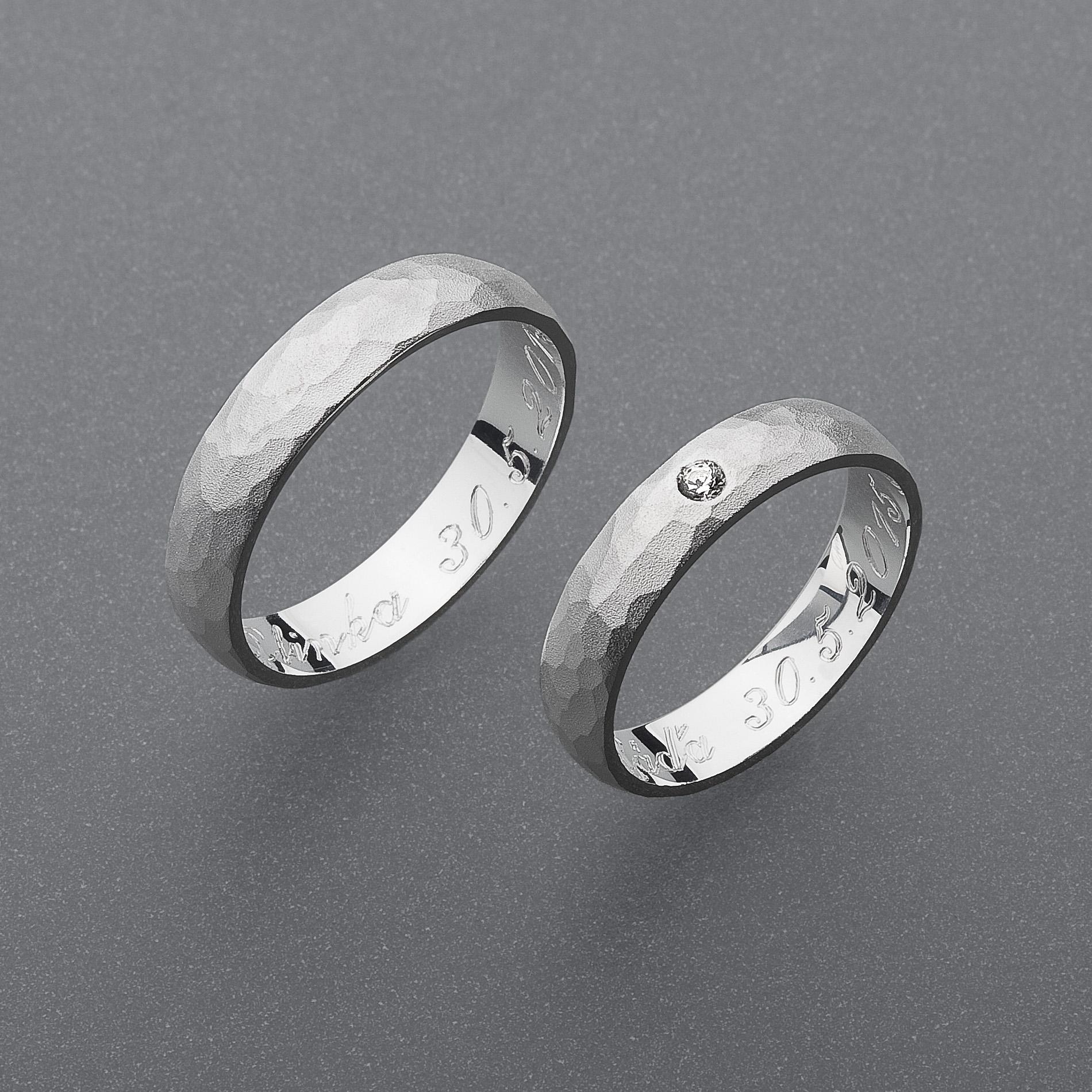 Snubní prsteny RA54