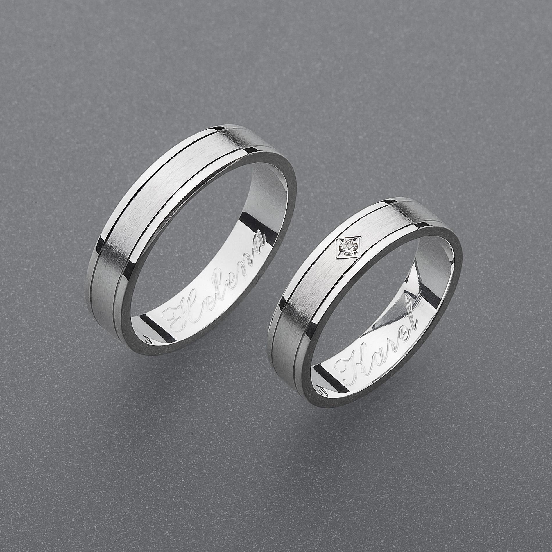 Snubní prsteny RA55