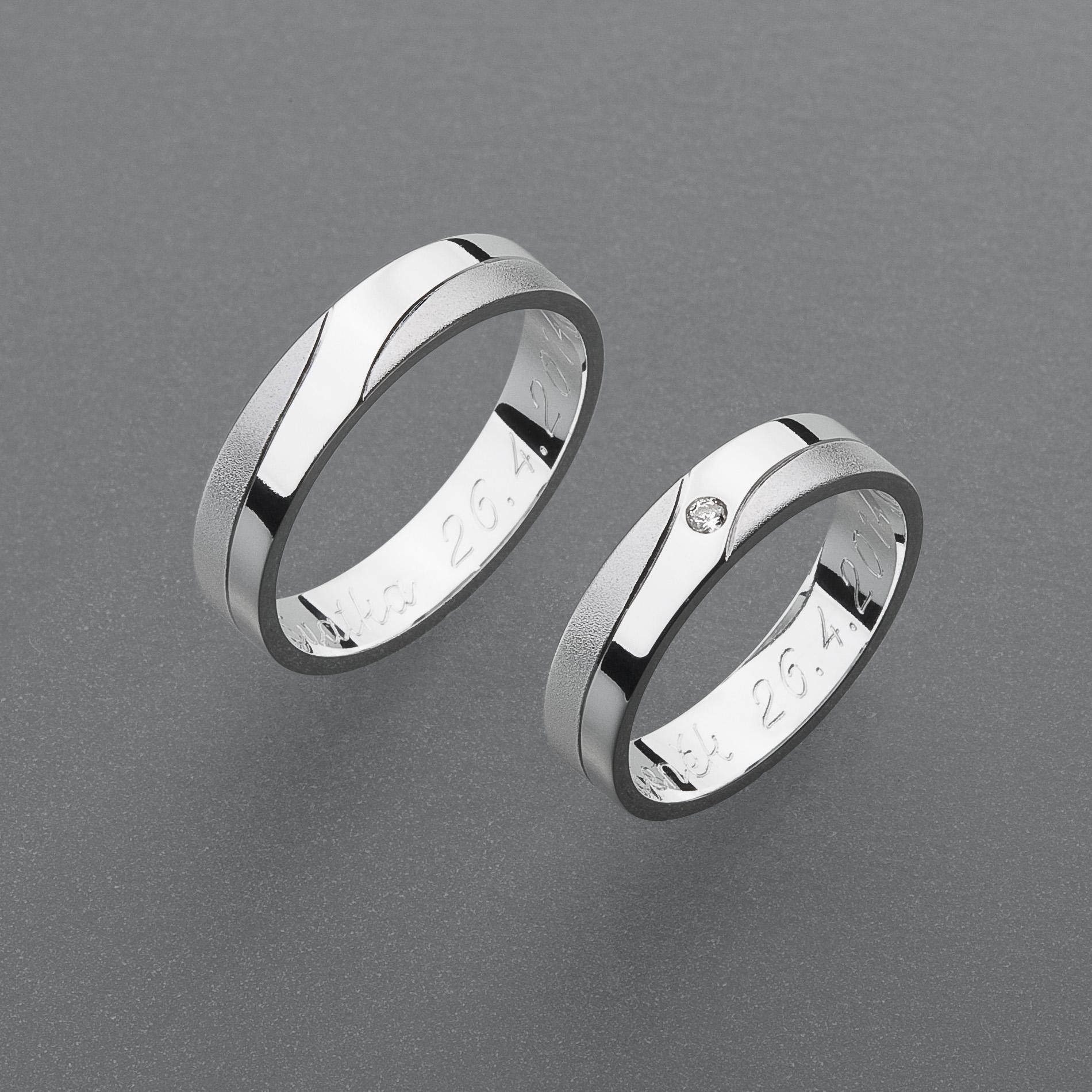 Snubní prsteny RA39