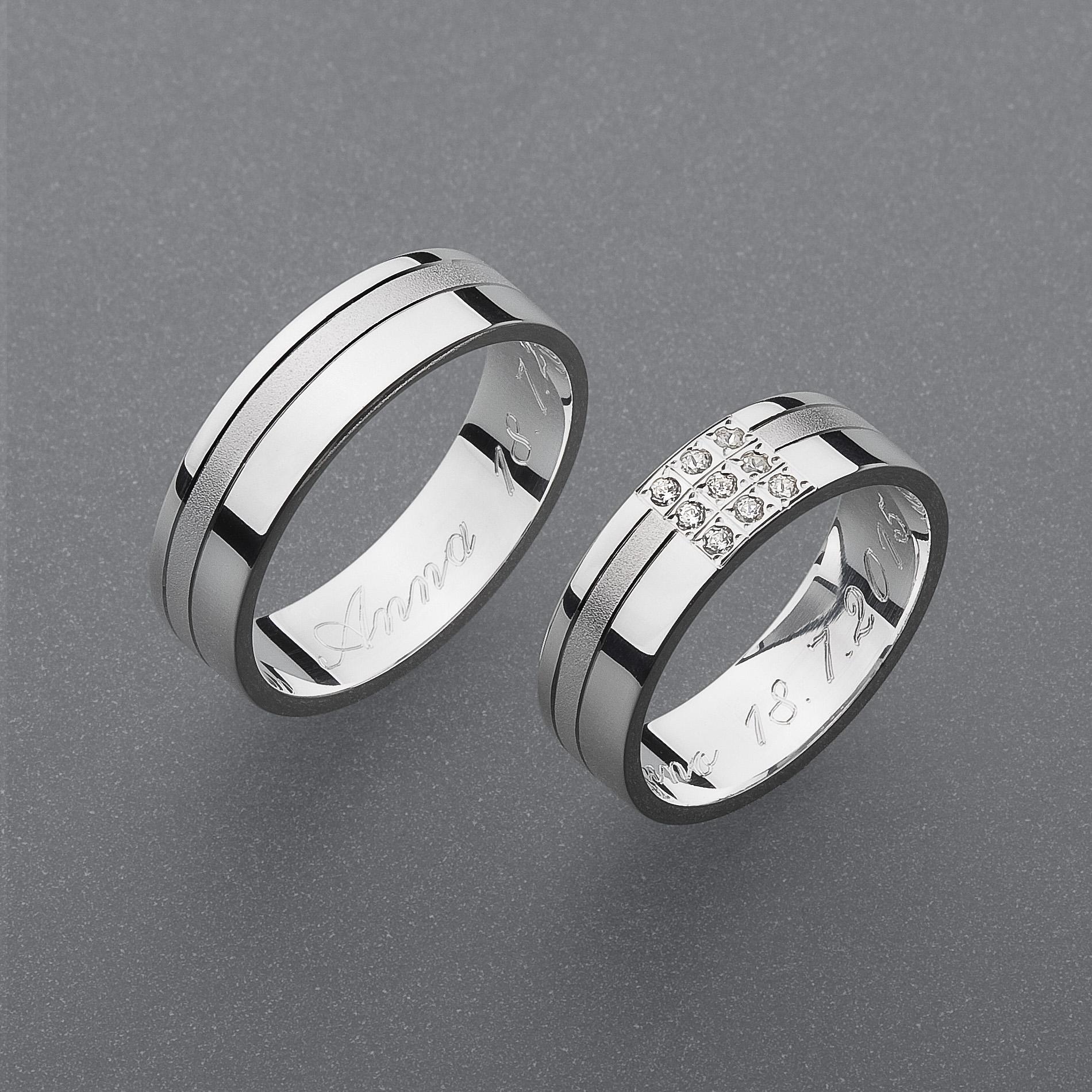 Snubní prsteny RA49