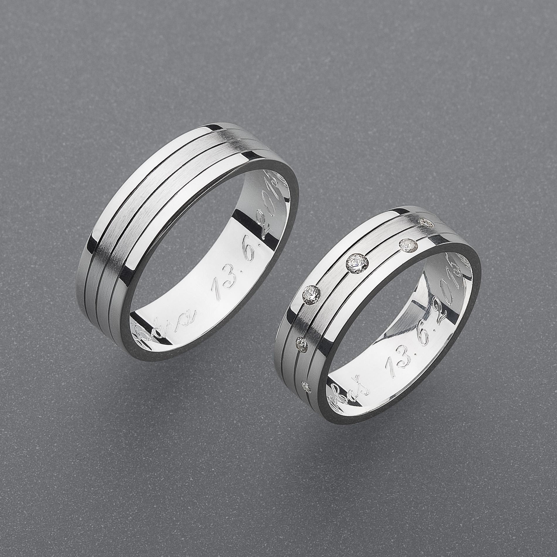 Snubní prsteny RA51