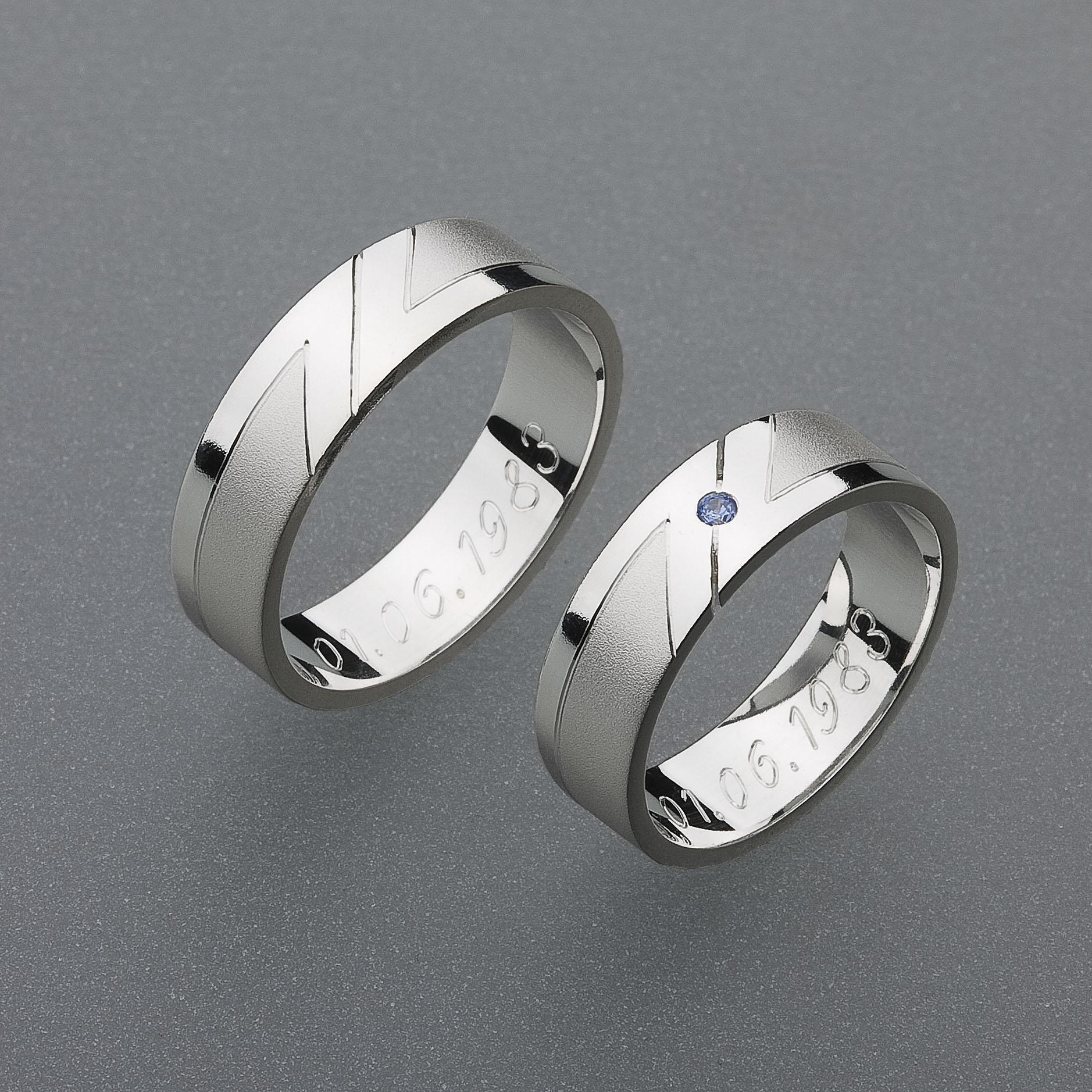 Snubní prsteny RA14