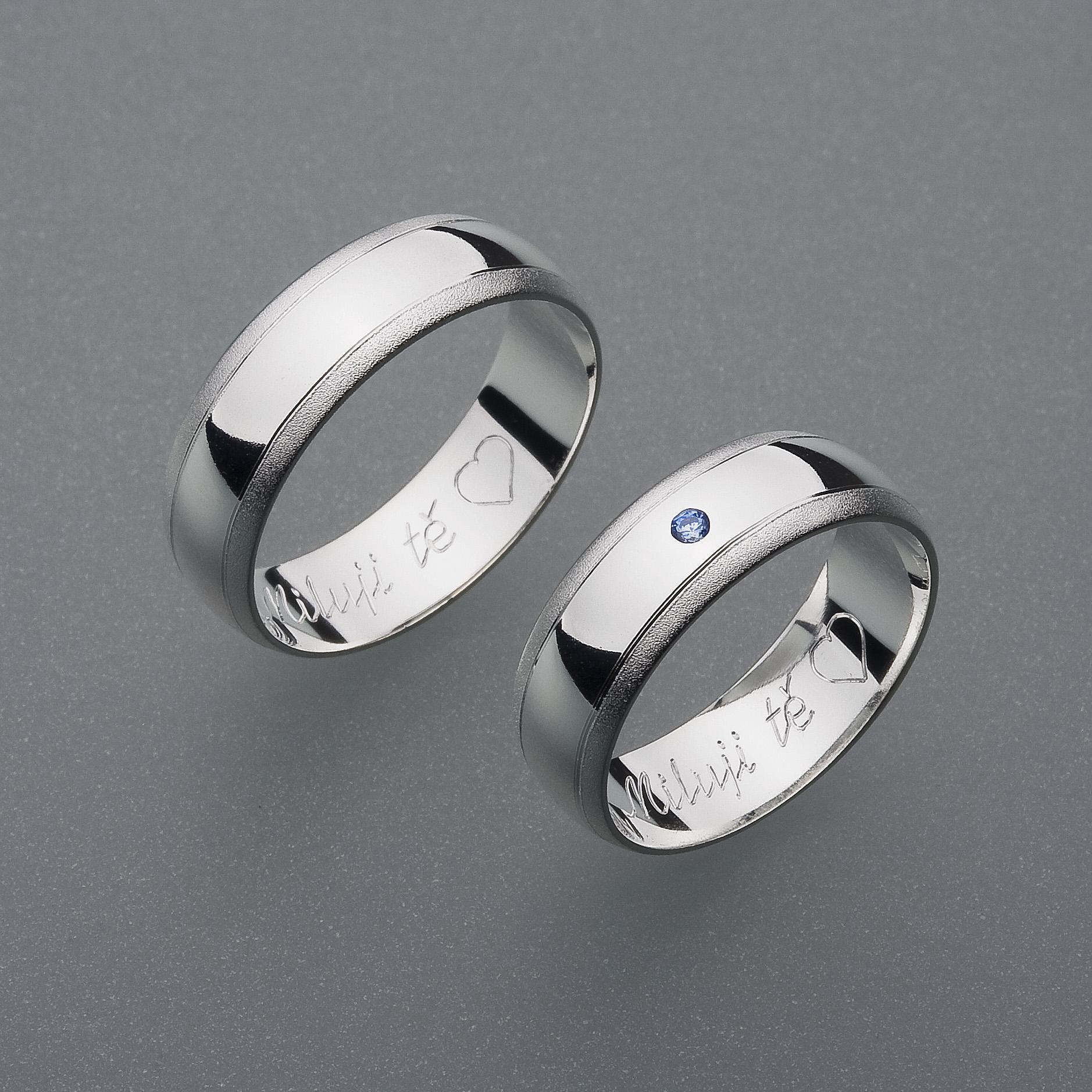 Snubní prsteny RA4
