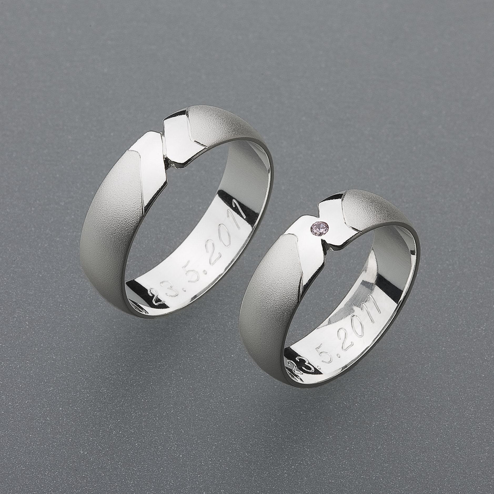 Snubní prsteny RA15