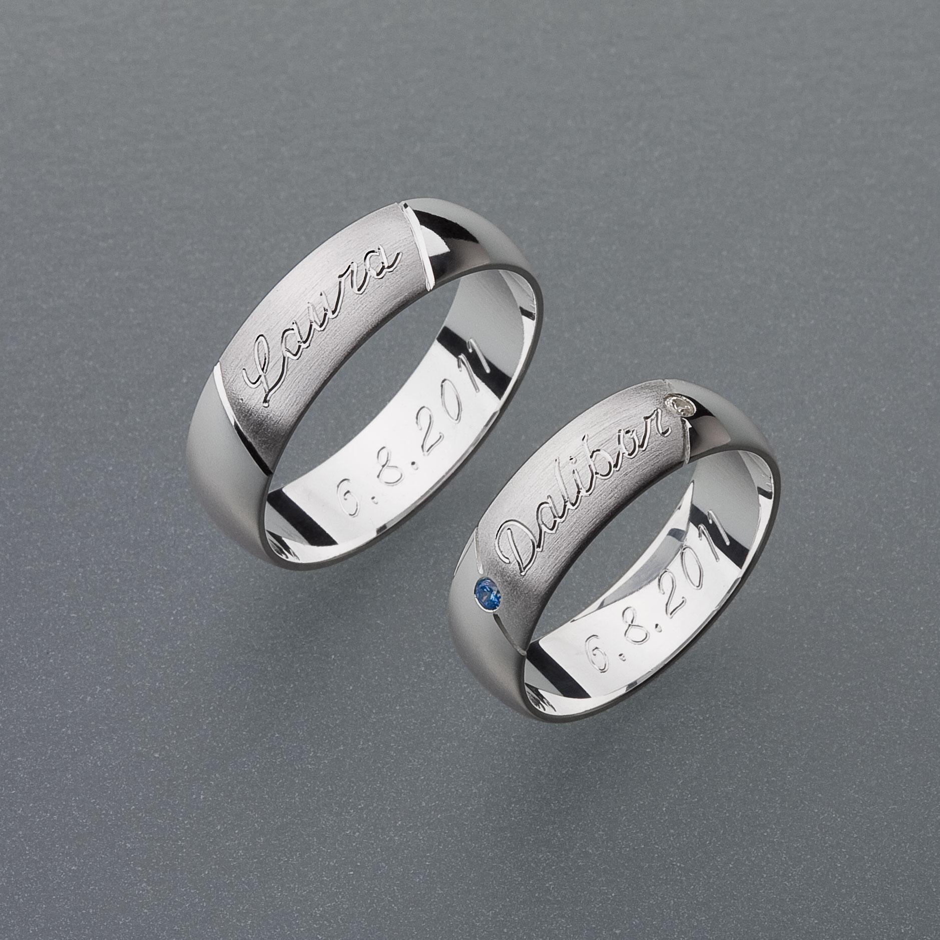 Snubní prsteny RA18
