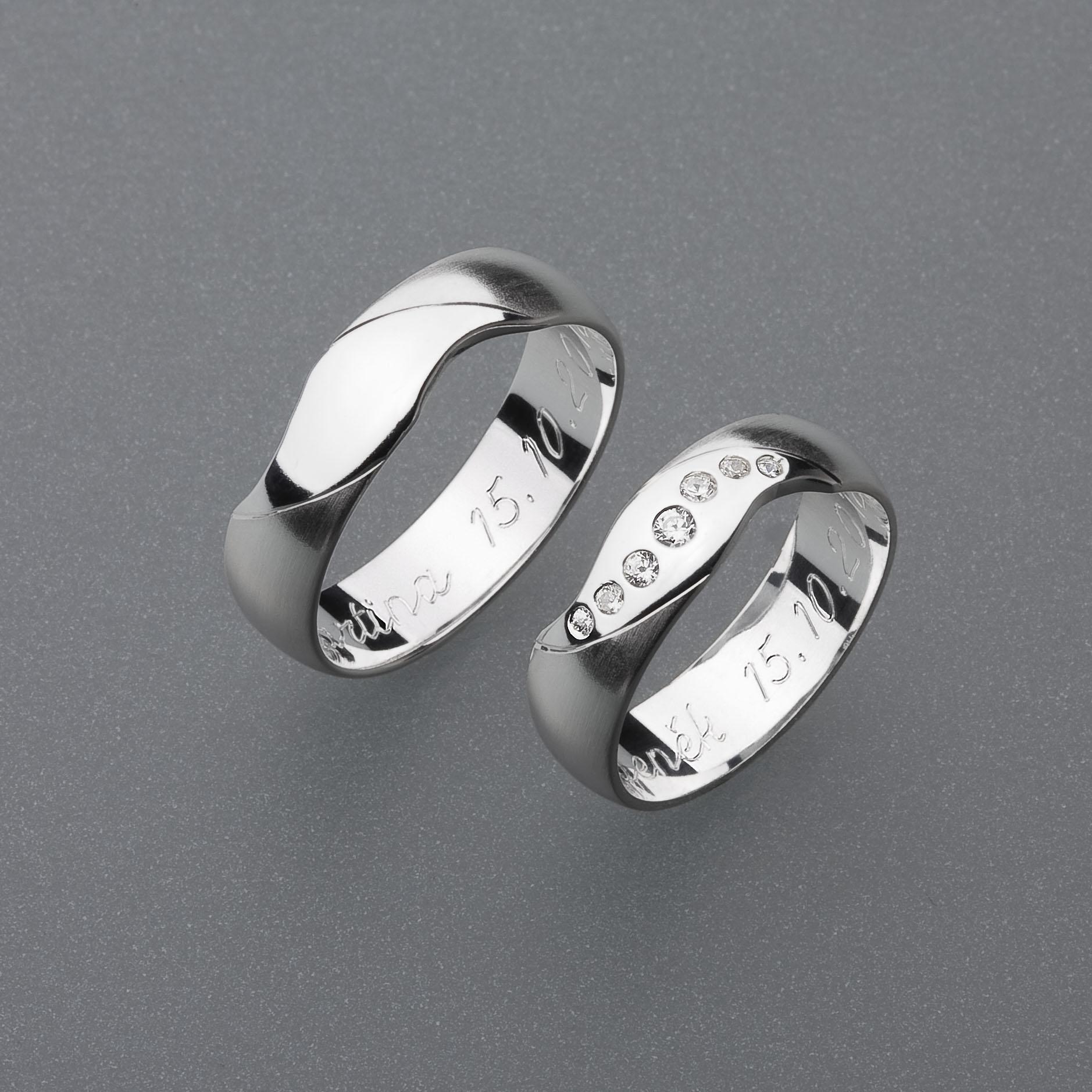 Snubní prsteny RA23