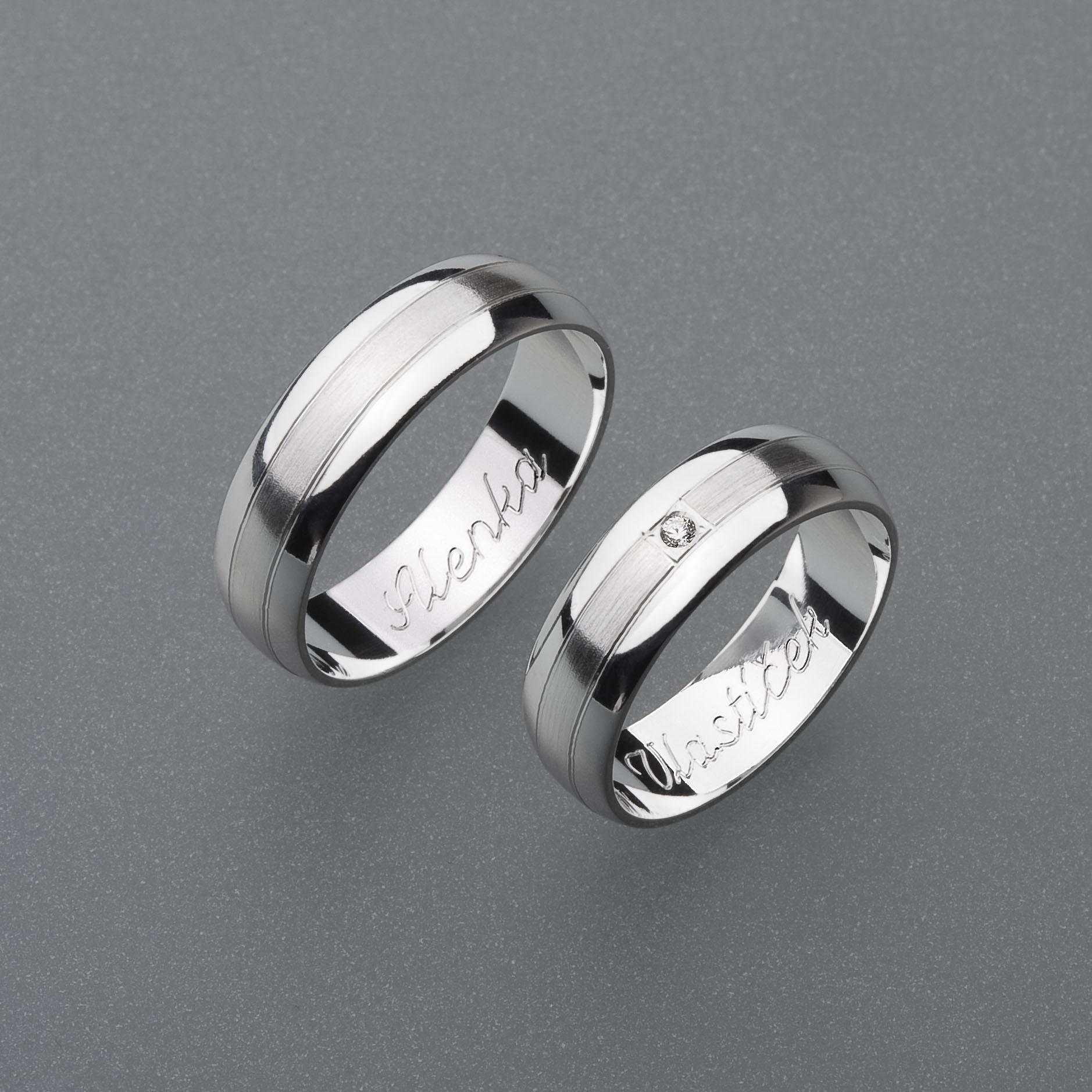 Snubní prsteny RA26
