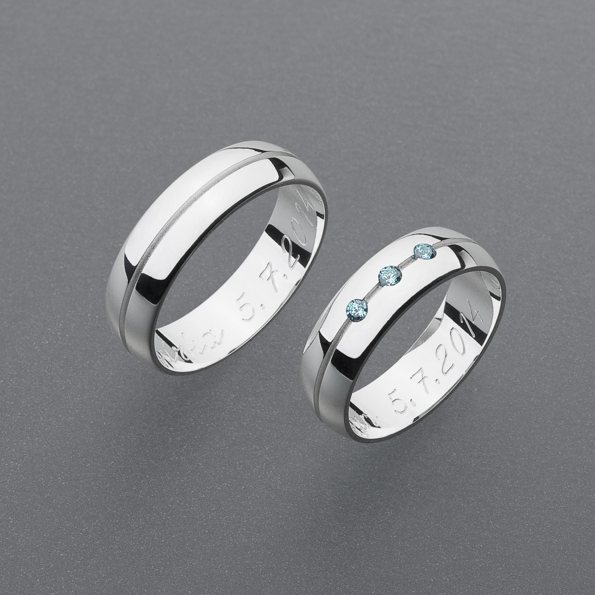 Snubní prsteny RA45
