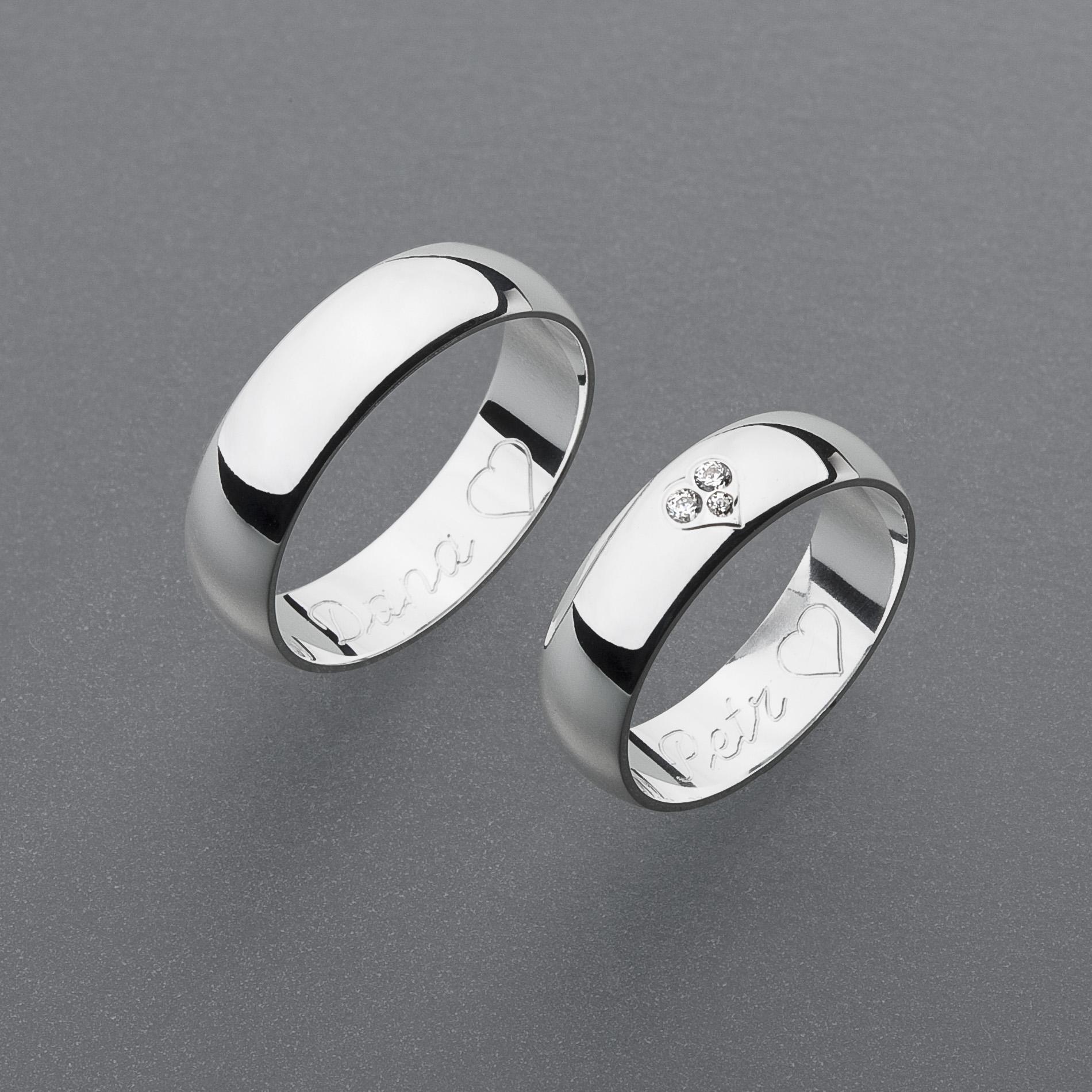 Snubní prsteny RA44