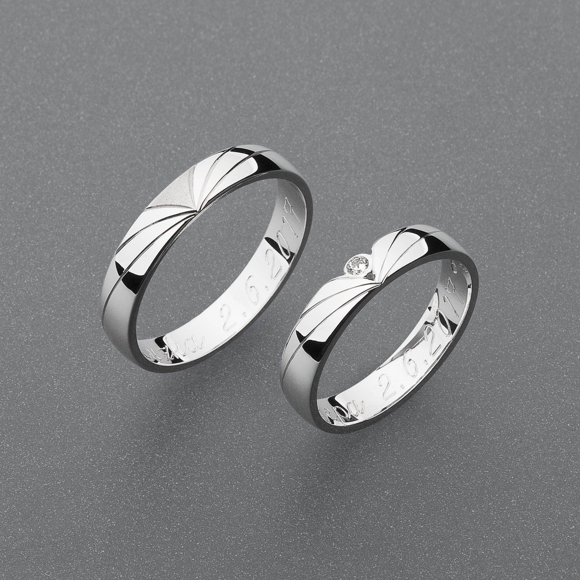 Snubní prsteny RA78