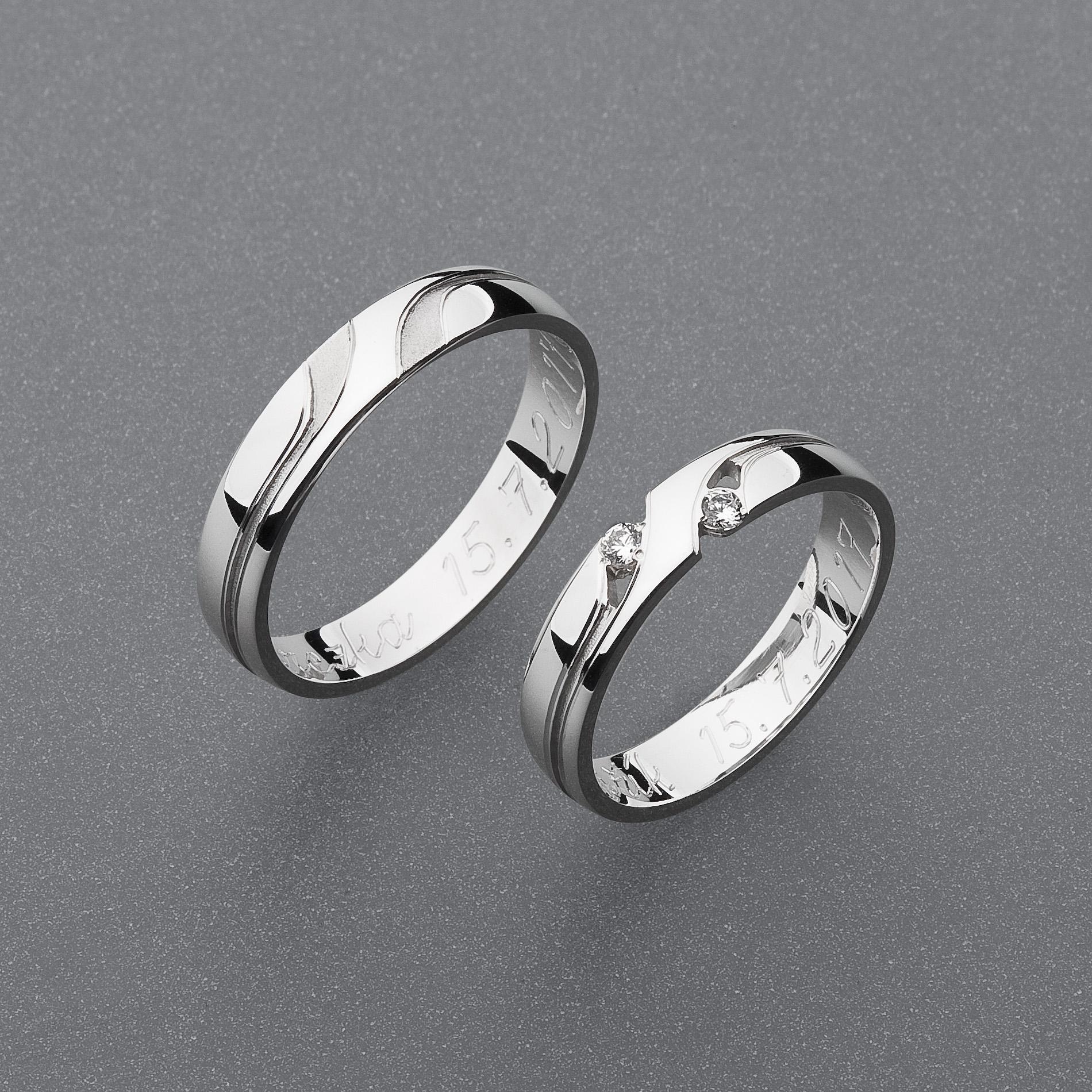 Snubní prsteny RA79