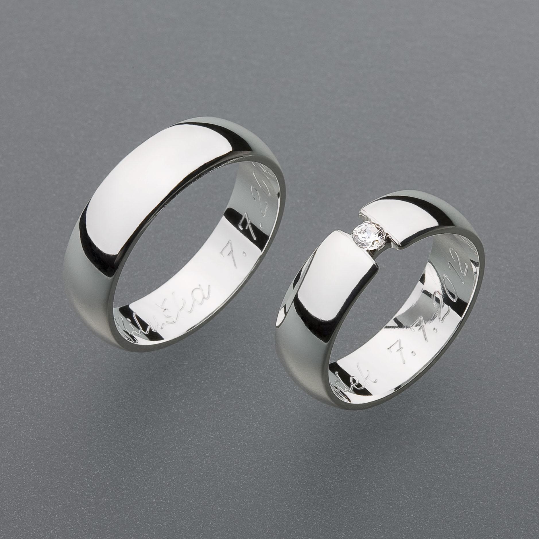 Snubní prsteny RA33